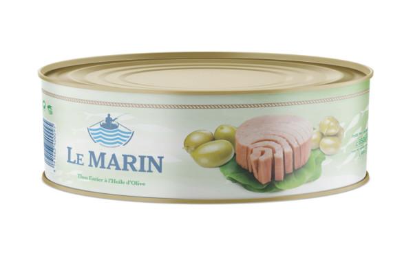 Whole Tuna Olive Oil 850gr